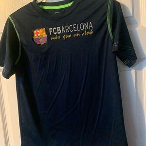Large boys Barcelona soccer jersey ⚽️